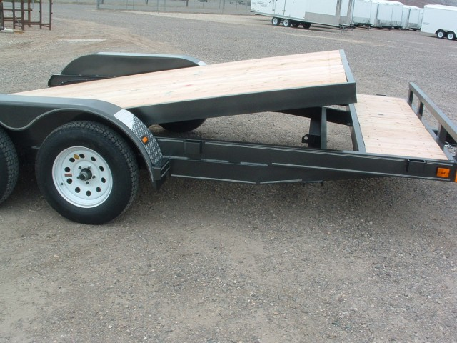 Tilt Deck Car Trailer