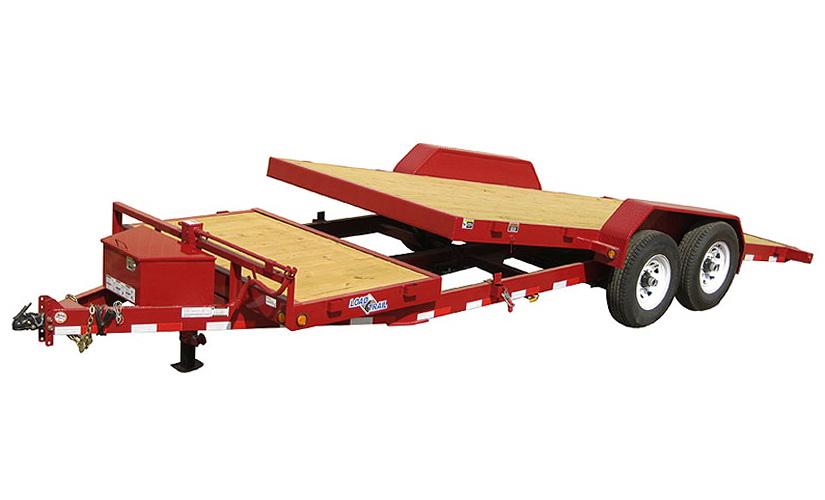 Tilt Deck Utility Trailer