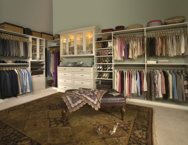 Walk In Closet Organizers Menards