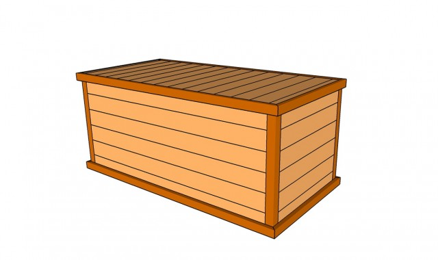 Waterproof Deck Box Plans