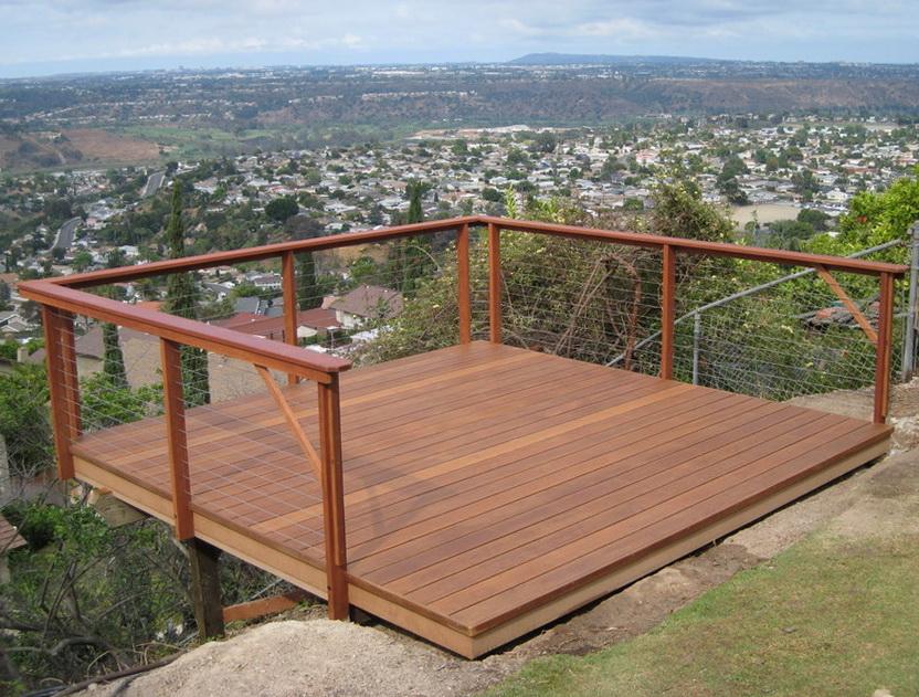 Wire Railing For Decks