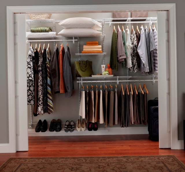 Wire Shelving Ideas For Closets