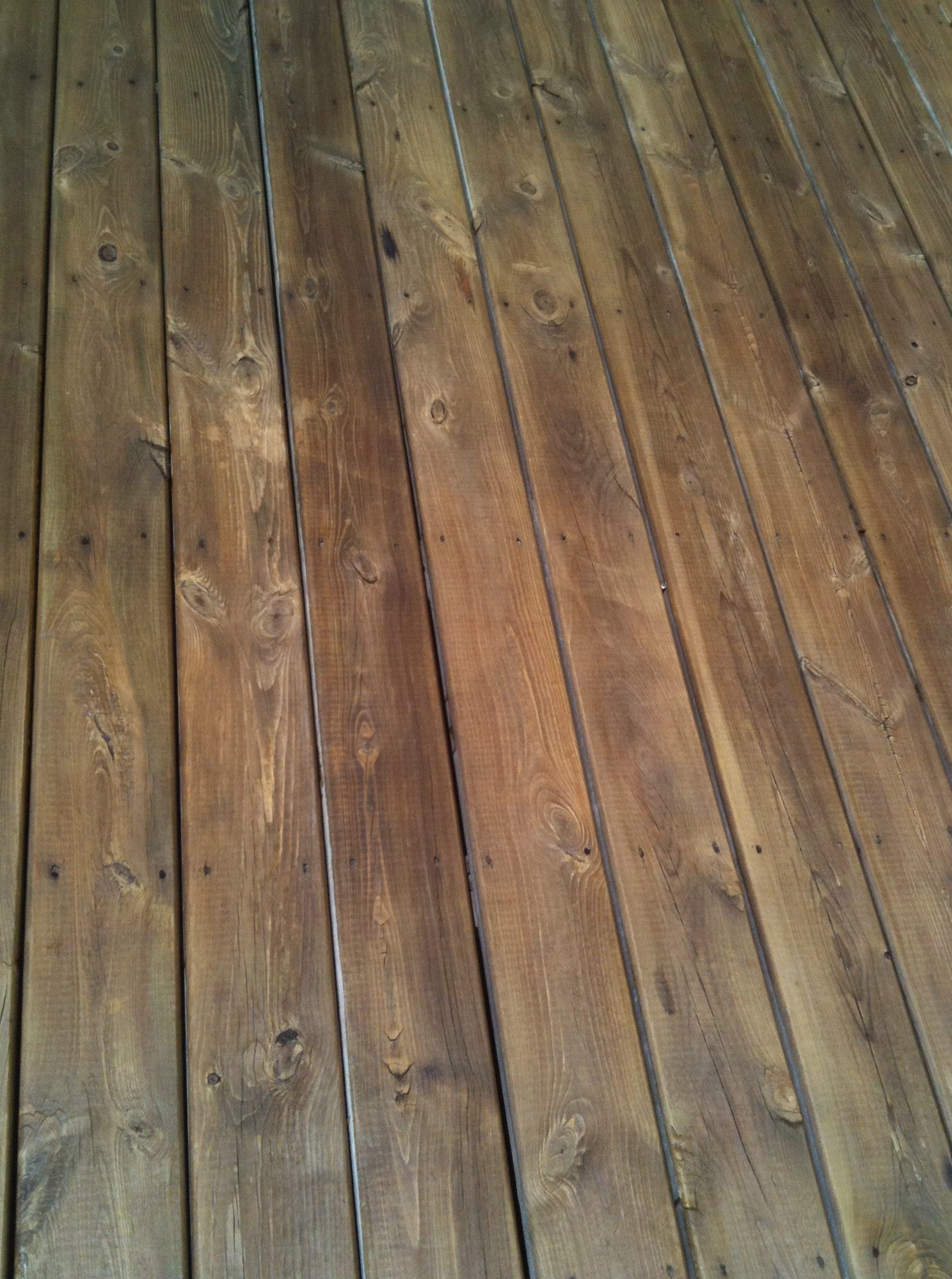 Wood Deck Cleaner Solution