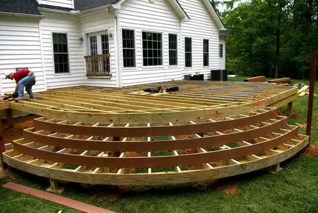 Wood Deck Design Plans
