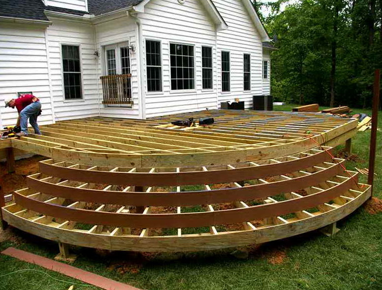 Wood Deck Plans Free