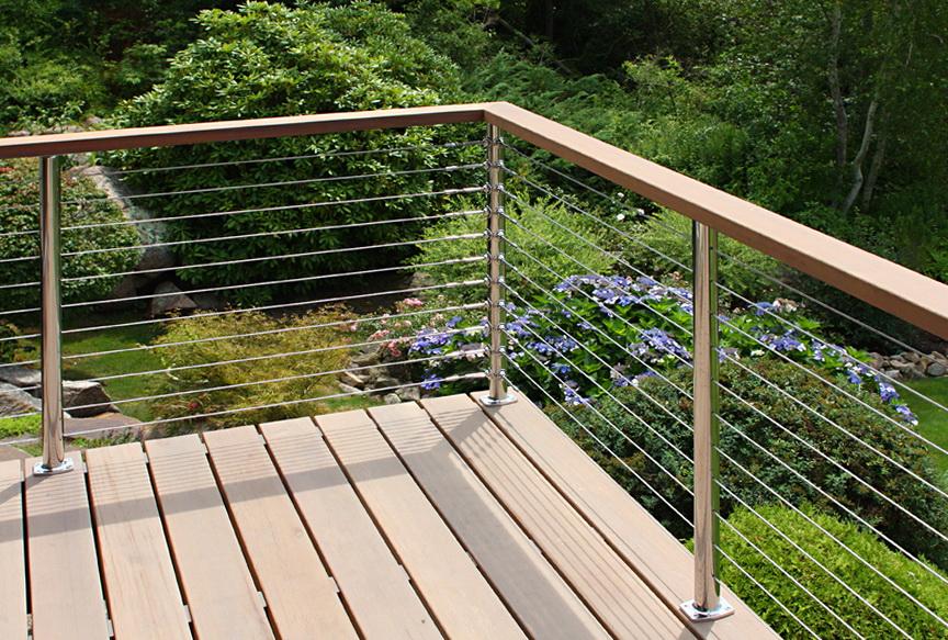 Wood Deck Railing Options