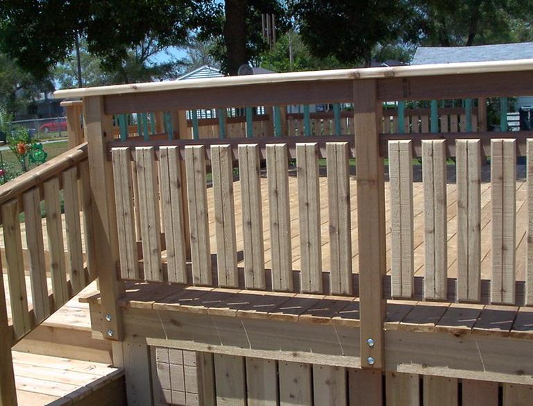 Wood Deck Railings Ideas