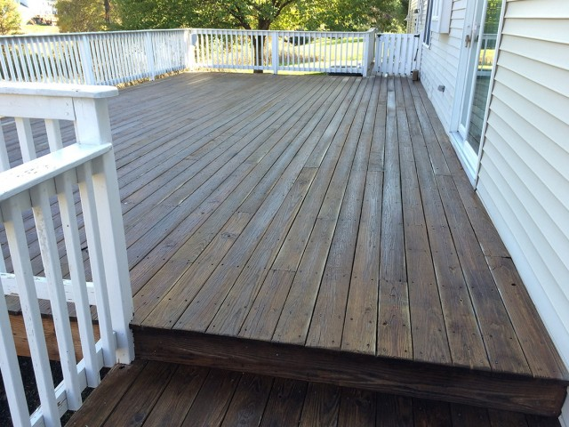 Wood Deck Restoration Services