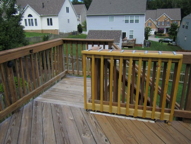 Wood Gates For Decks