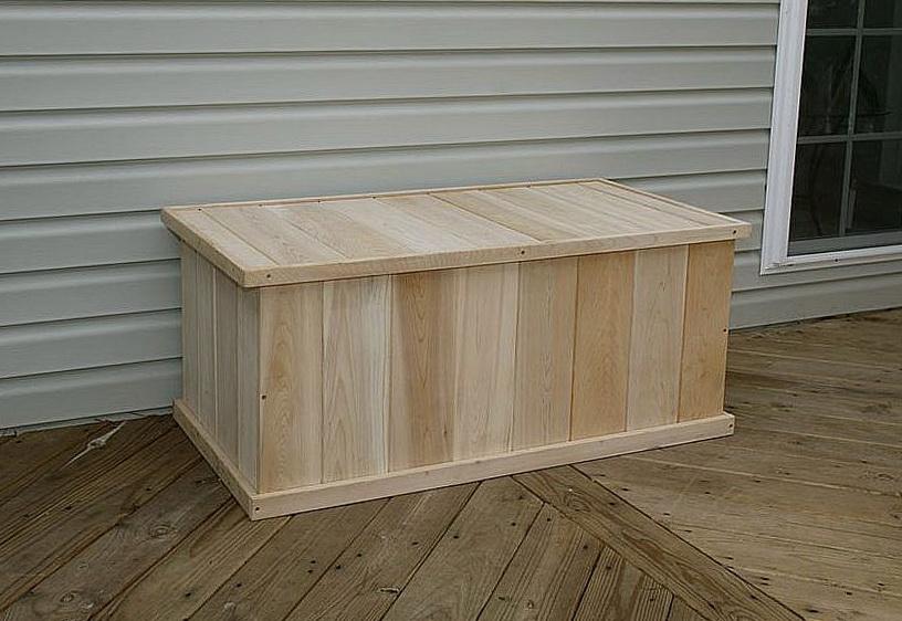 Wooden Card Deck Box