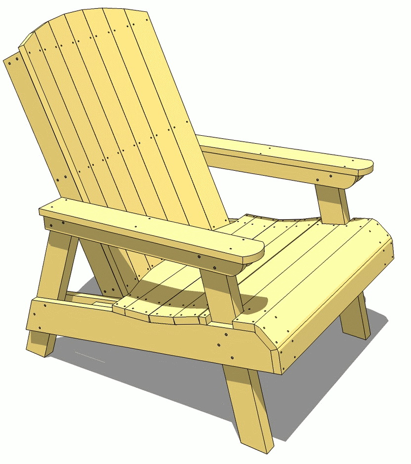 Wooden Deck Furniture Plans