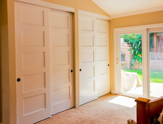 4 Panel Sliding Closet Doors