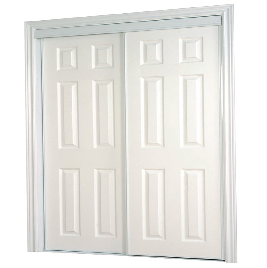 6 Panel Sliding Closet Doors