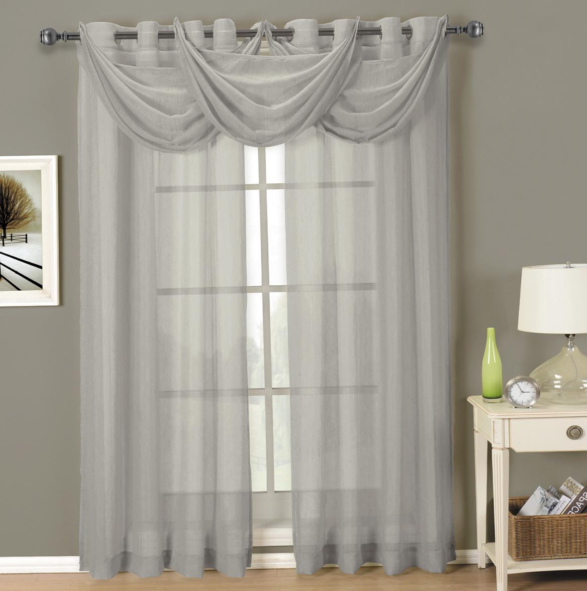 96 Inch Curtains Grey