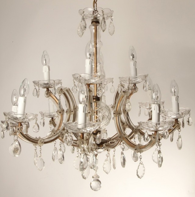 Antique Crystal Chandeliers Uk