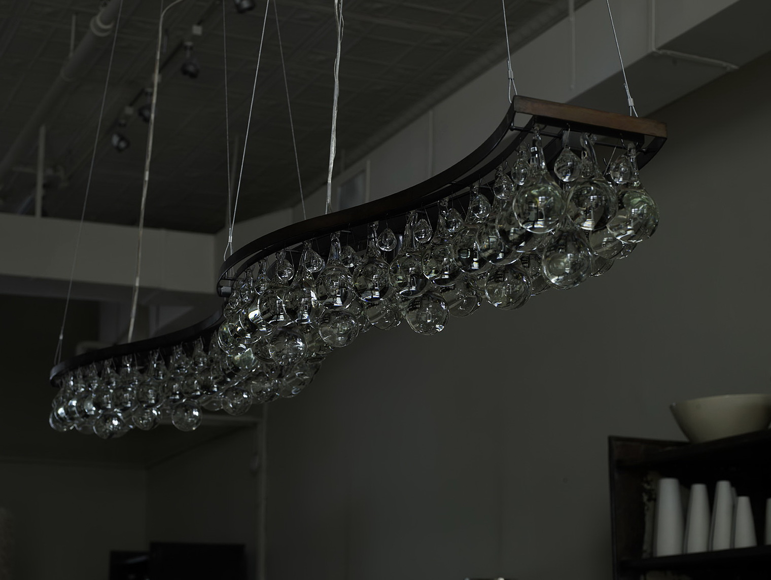 Arctic Pear Chandelier Knock Off