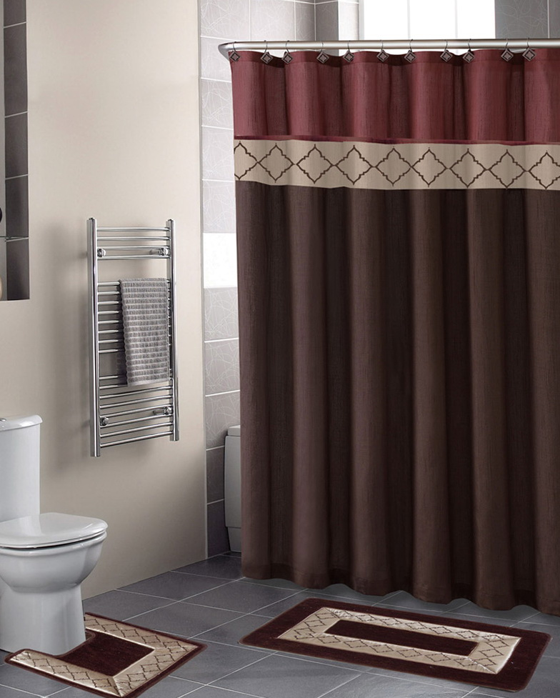 Bathroom Shower Curtains Sets
