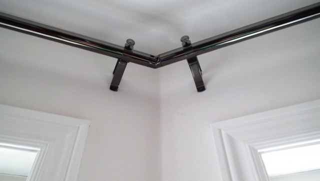 Bay Window Curtain Rod Corner Connectors