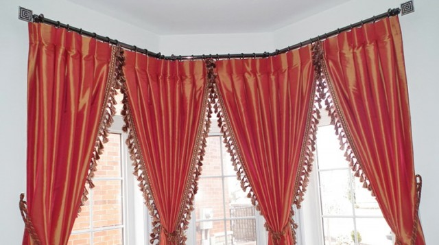 Bay Window Curtain Rods Amazon