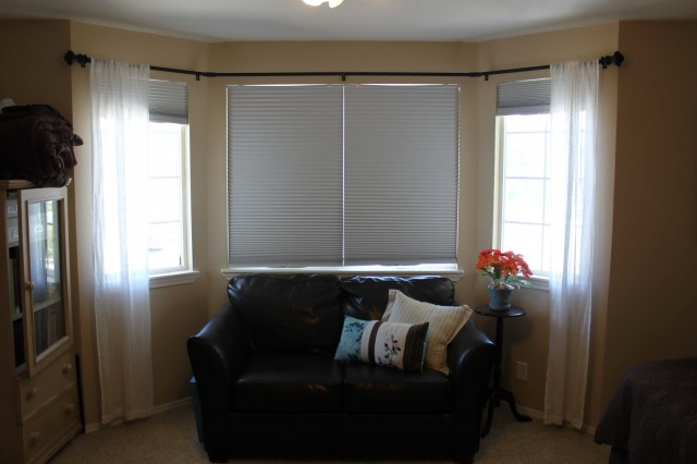 Bay Window Curtain Rods Diy