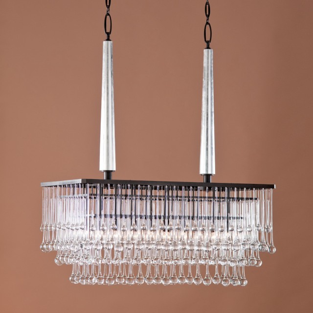 Bella Crystal Rectangular Chandelier