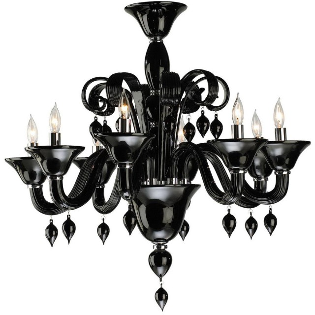Black And White Chandelier Picture