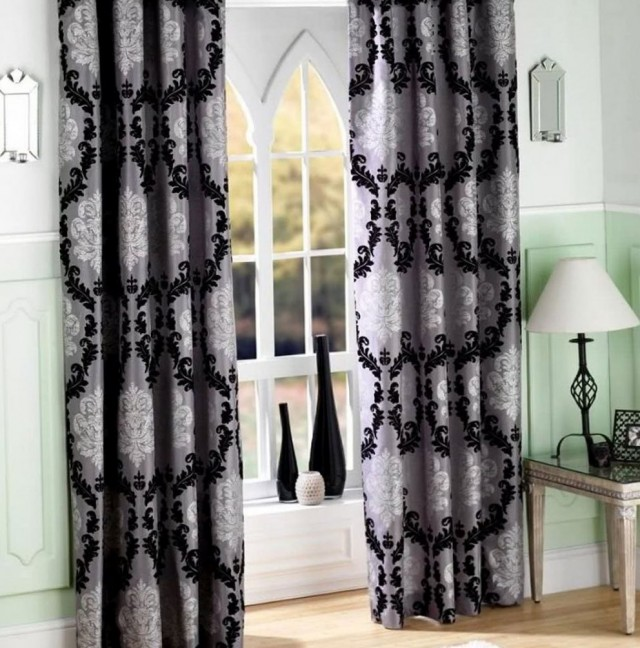Black And White Curtains Walmart