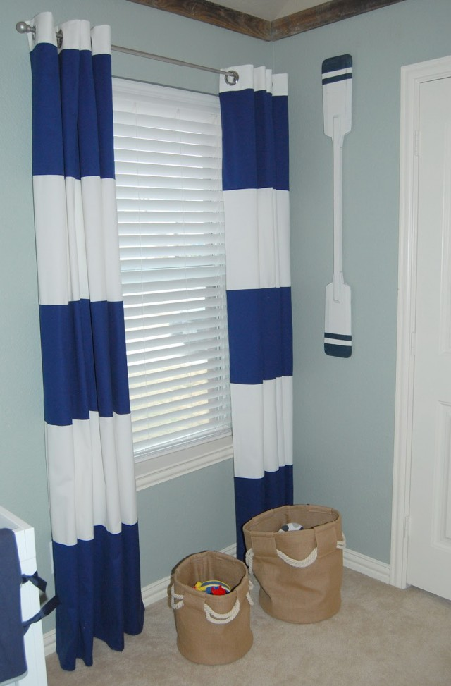 Blue And White Curtains Target