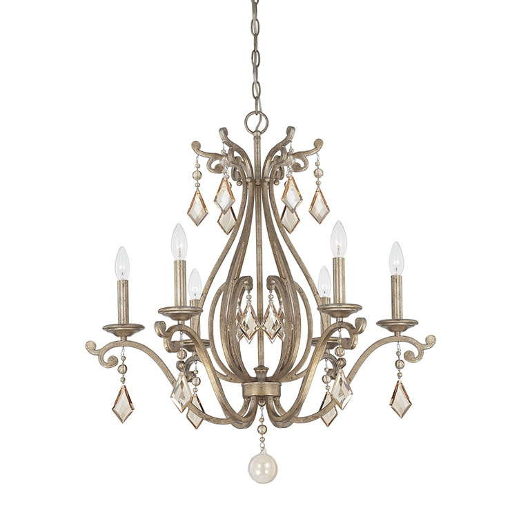 Chandelier Candle Covers Silver