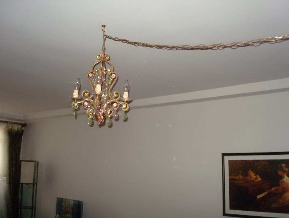 Chandelier Plug Into Wall