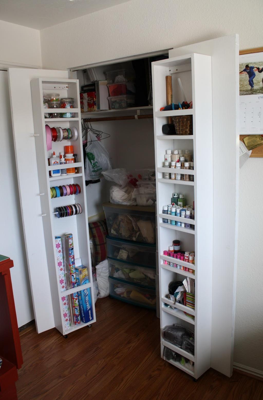 Closet Door Storage Ideas