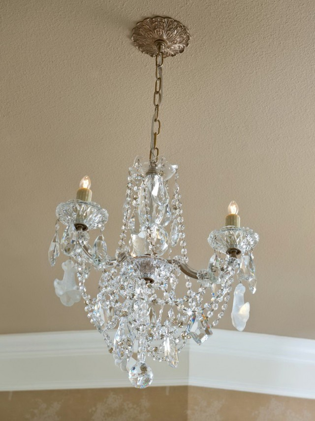 Crystal Chandelier For Bathroom