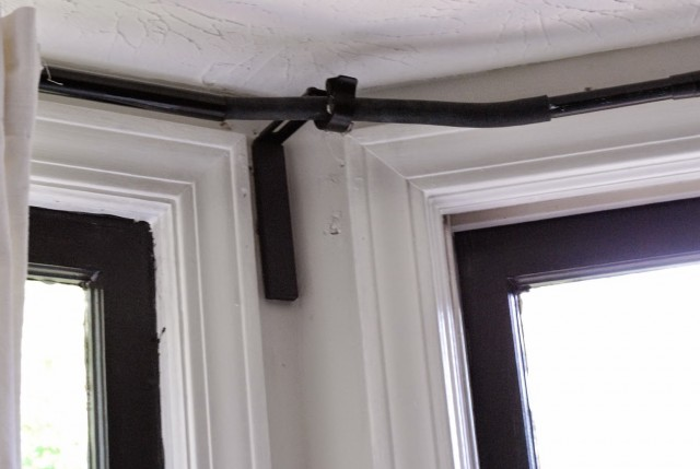 Curtain Rods For Bay Windows Bendable