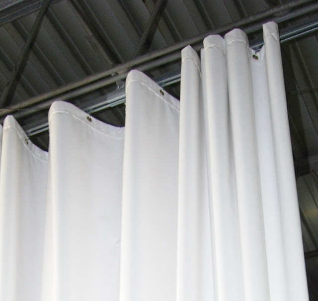 Curtain Track System For Drop Ceiling