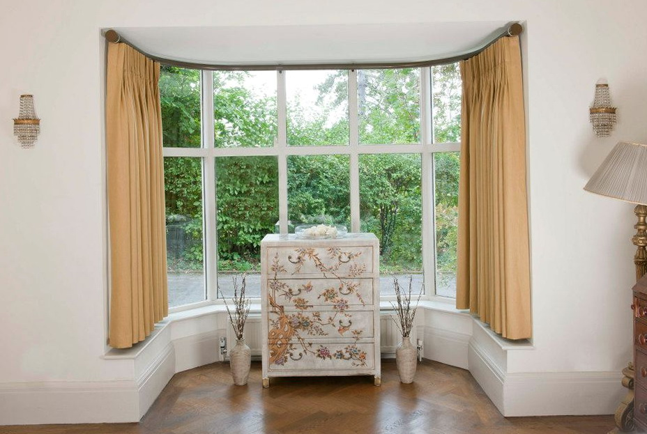 Curtains For Bay Windows Pictures
