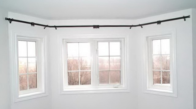 Curved Curtain Rod For Bow Window