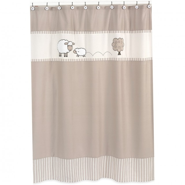 Cute Kids Shower Curtains
