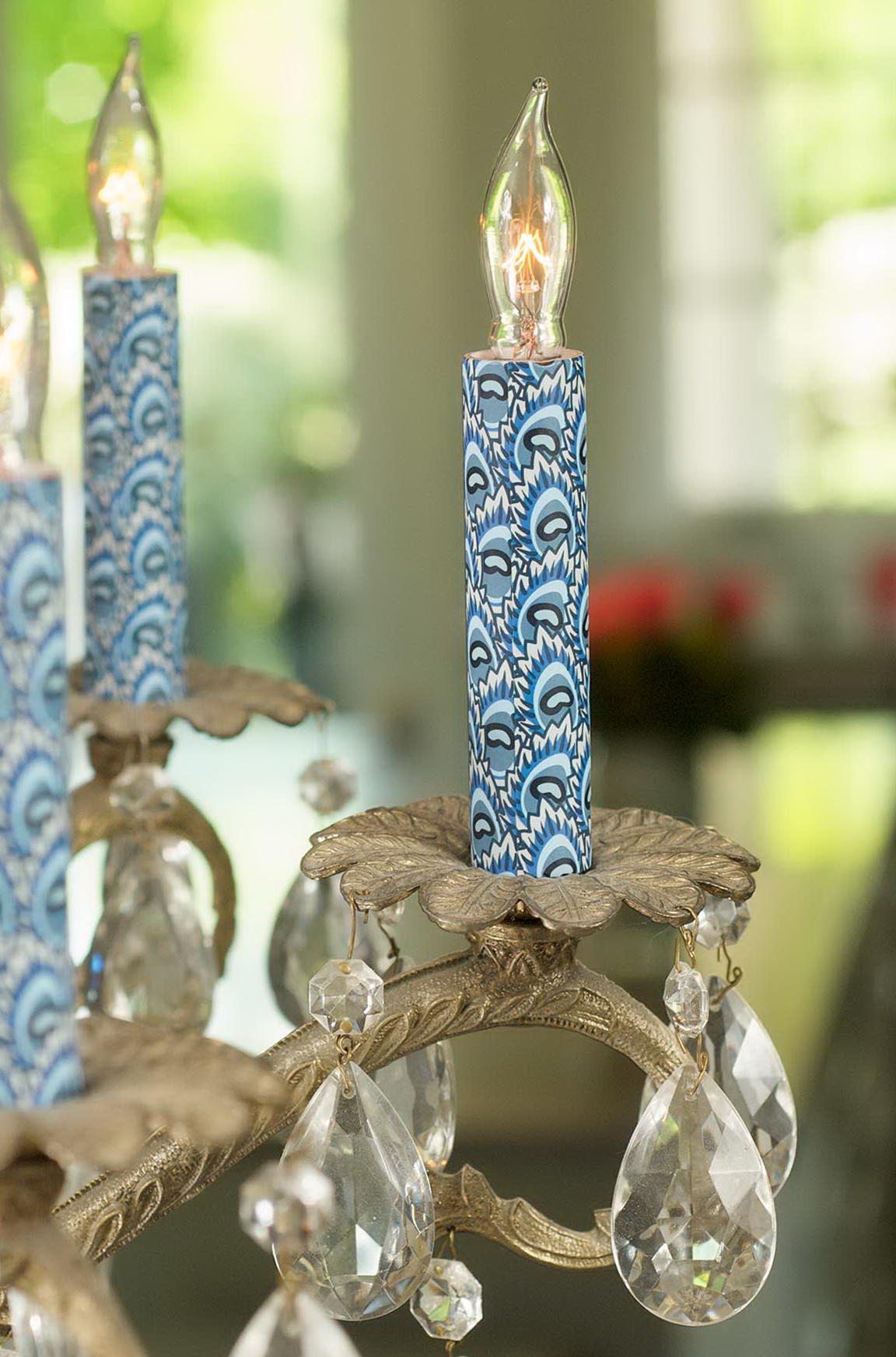 Decorative Chandelier Candle Covers
