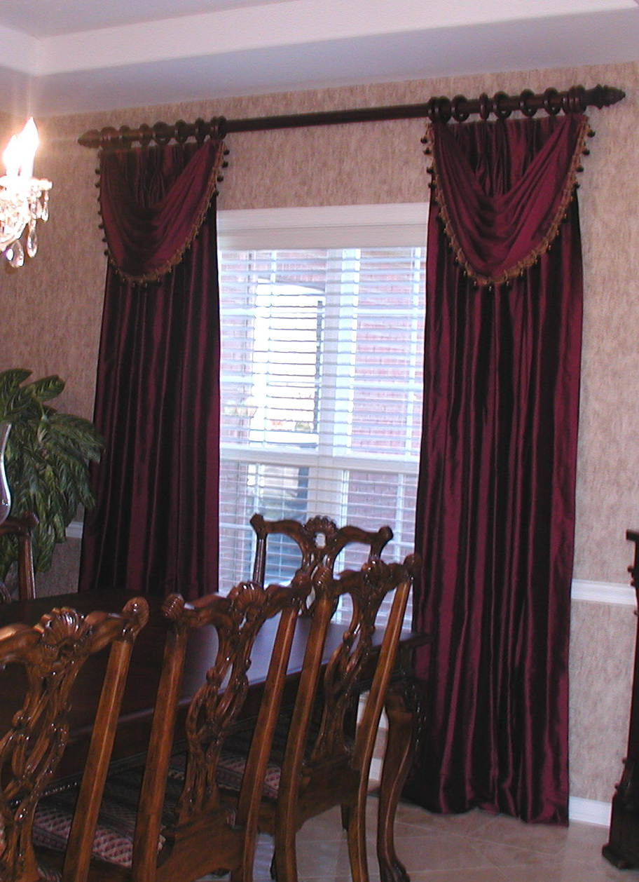 Dining Room Curtains Drapes
