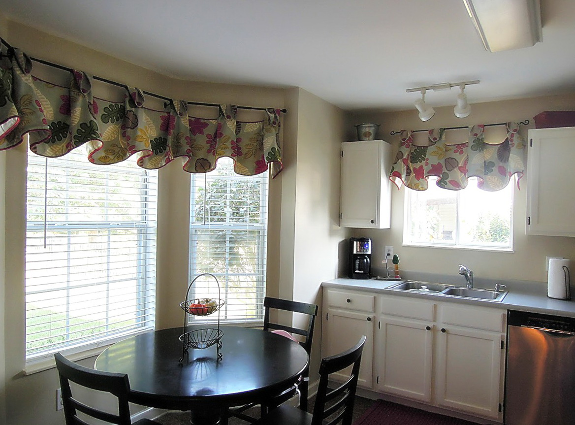 Dining Room Curtains For Bay Windows