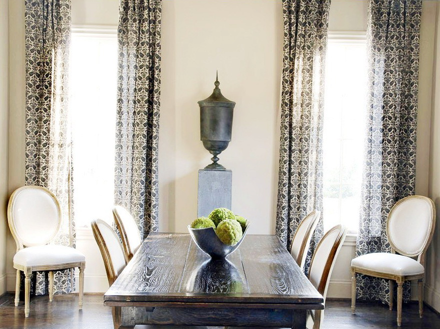 Dining Room Curtains Ideas