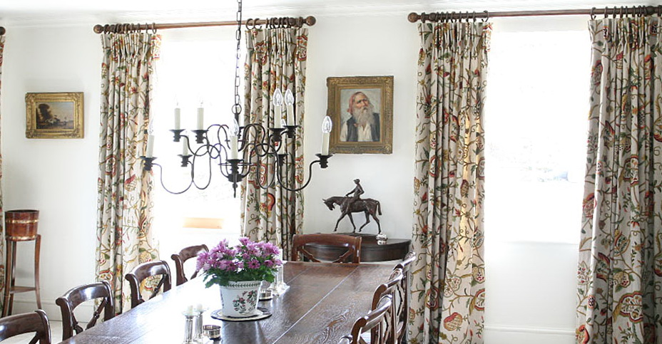 Dining Room Curtains Images