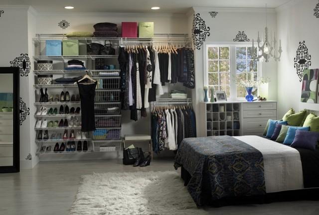Diy Bedroom Closet Organization Ideas