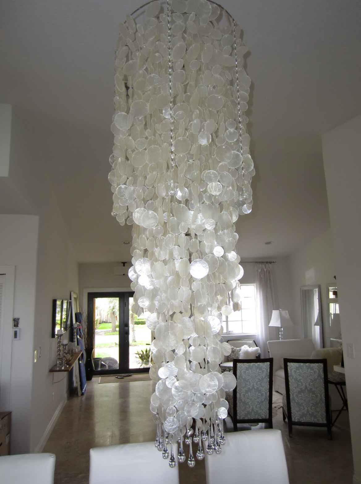 Diy Crystal Chandelier Pinterest