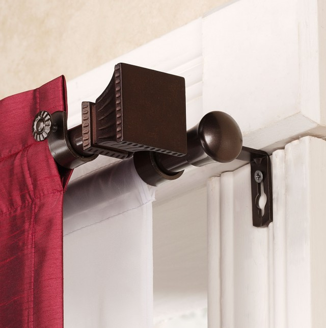 Double Curtain Rods Australia