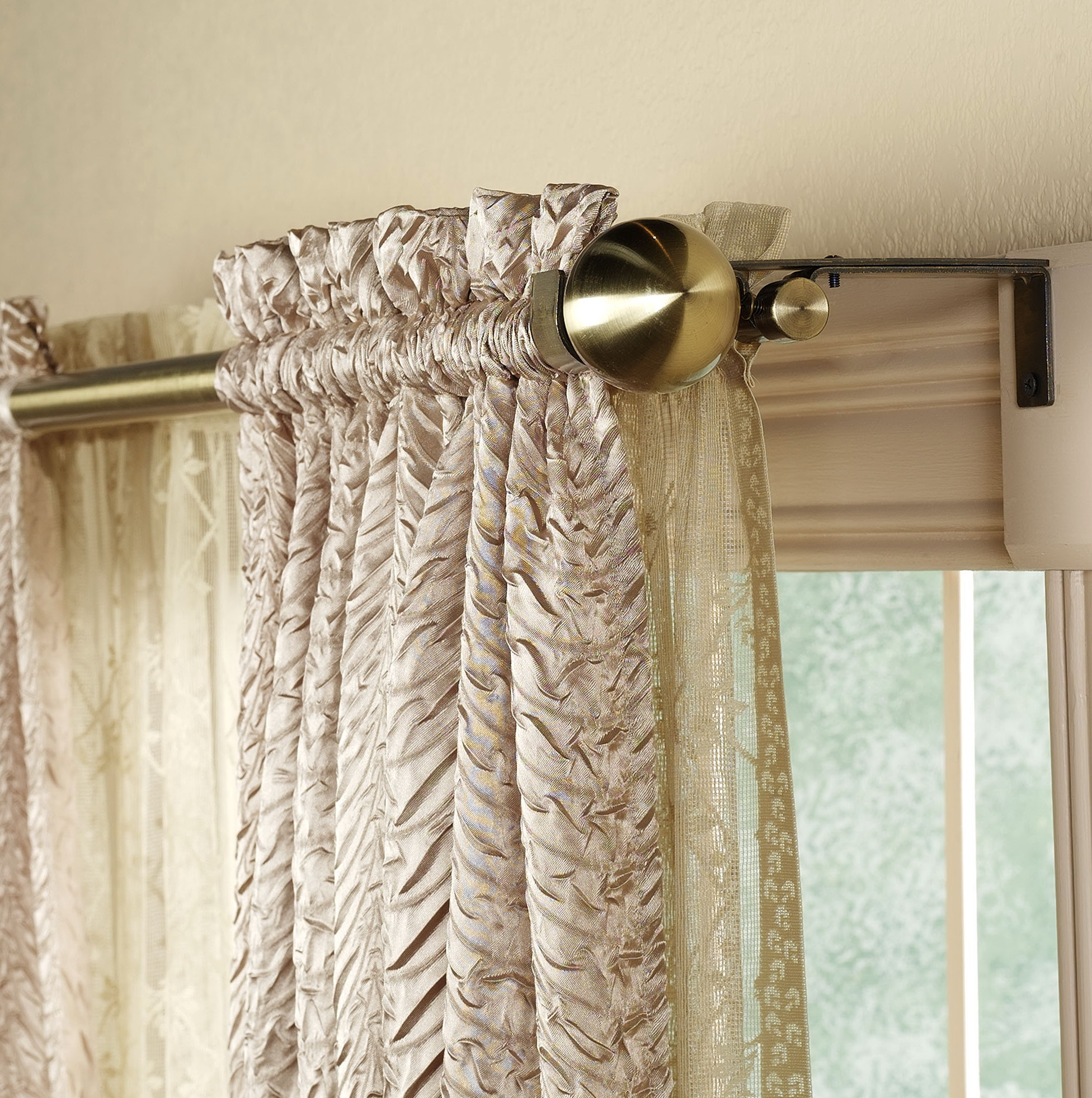 Double Curtain Rods Online India