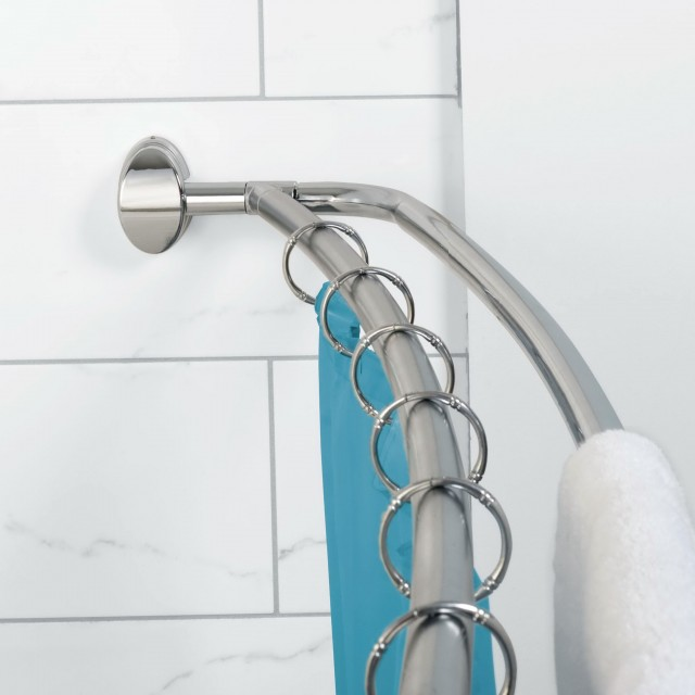 Double Shower Curtain Rod Amazon