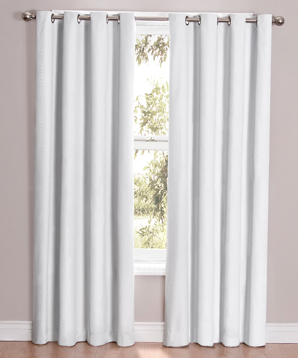 Eclipse Blackout Curtains White