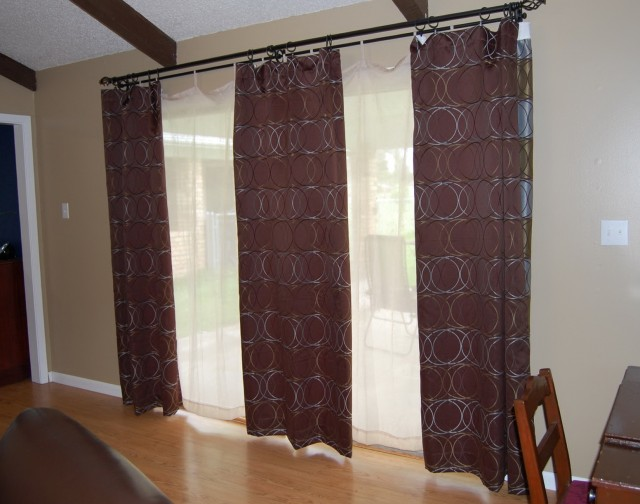 Energy Efficient Curtains For Sliding Glass Doors