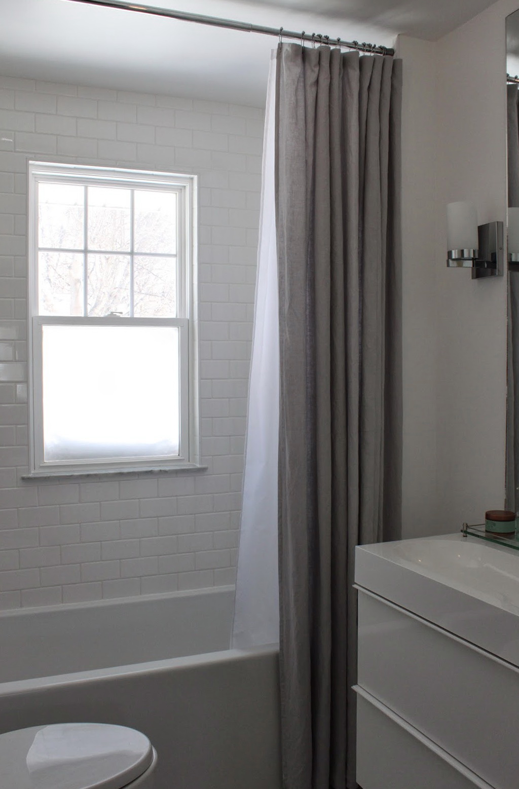 Extra Long Grey Curtains